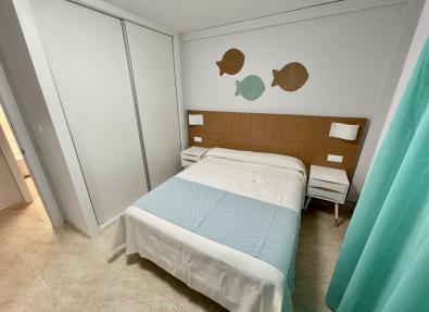 Habitación amplia con armario empotrado Apartamentos Salou