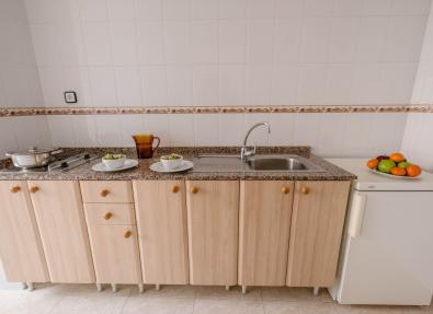 Cuina equipada Apartaments California Garden Salou Tarragona
