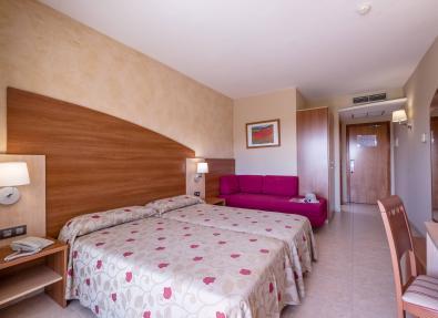 Double rooms Hotel California Palace Salou Tarragona