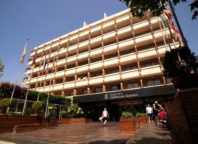 Fachada Hotel California Garden Salou Tarragona