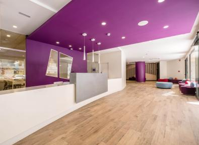 Réception et espaces communs Appartements California Salou Tarragona