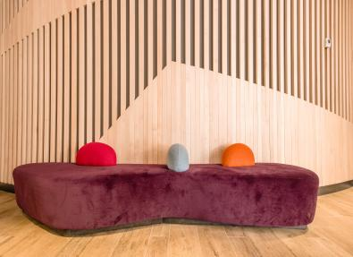 Sofa reception Appartements California Salou Tarragona