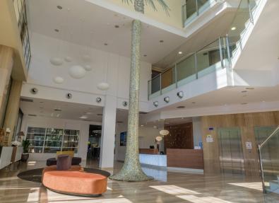 Inside view Hotel California Palace Salou Tarragona