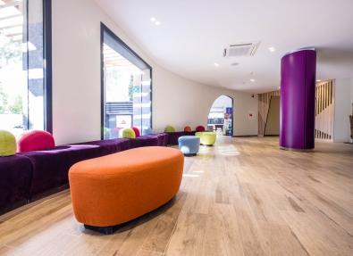 Recepció i àrees comuns Apartaments California Salou Tarragona