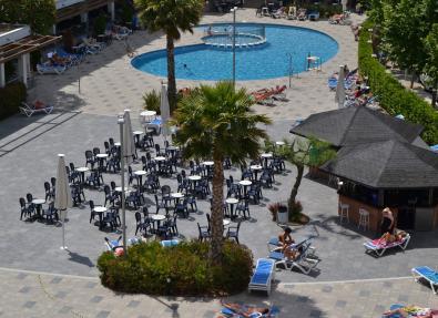 Bar piscina Hotel California Garden Salou Tarragona