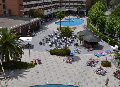 Bar y Piscina Hotel California Garden Salou Tarragona