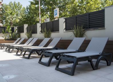 Chaises longues Appartements California Salou Tarragona