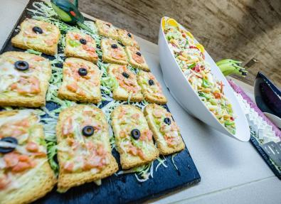 Entrants variats buffet Apartaments California Salou Tarragona