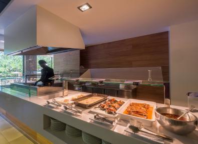 Free buffet Hotel California Palace Tarragona