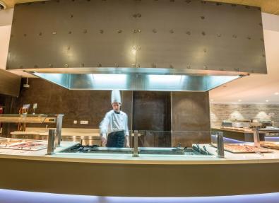 Cuisine buffet Appartements California Salou Tarragona