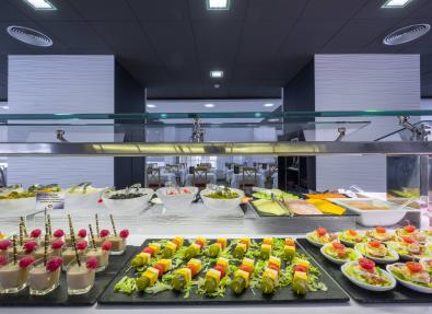 Restaurant buffet Hotel California Palace Salou