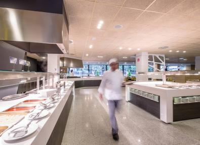 Free buffet hotel California Garden Salou Tarragona