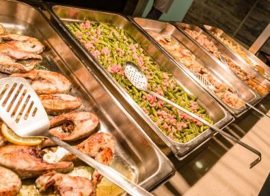 Restaruant buffet Apartaments California Salou Tarragona