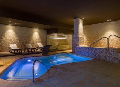 Climatized pool Hotel California Palace Salou Tarragona