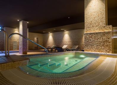 Hydromassage pool Hotel Califonia Palace Salou Tarragona